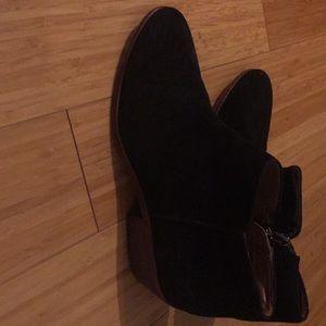 Sam Edelman Suede Booties Size 7.5